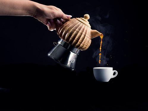 Lunika Kaffeekanne Classica Eschenholz 6 Tassen