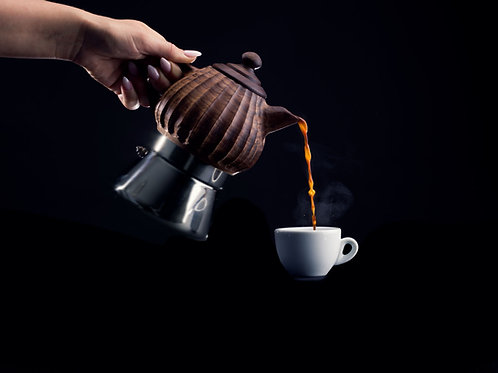 Lunika Kaffeekanne Classica Nussbaumholz 3 Tassen