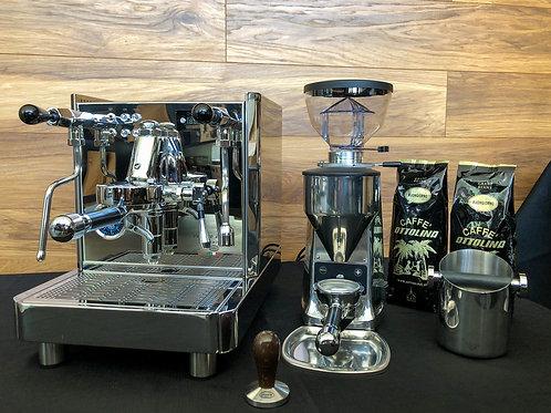 Quick Mill Vetrano Dual Boiler / Mazzer Mini E / b  / Caffè Ottolina