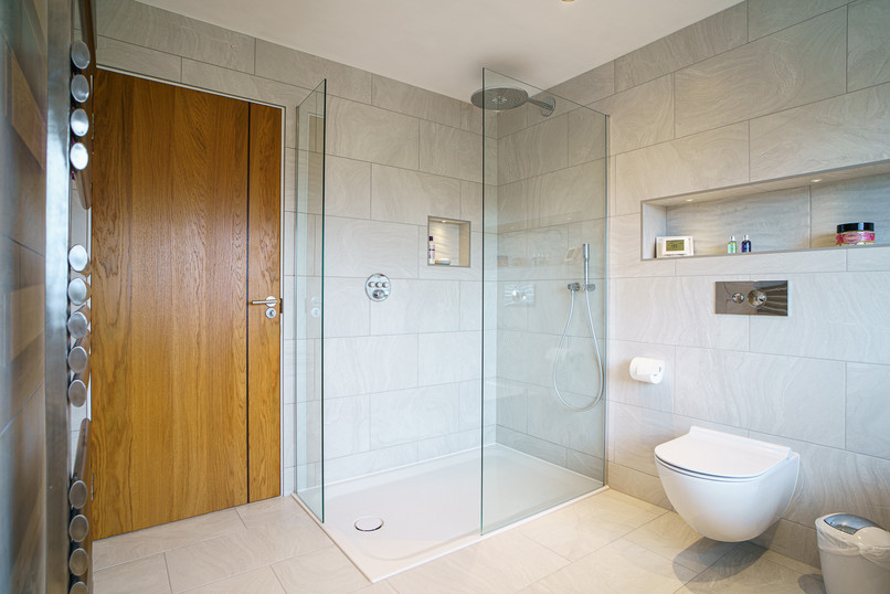 Full Glazed Shower Enclosure