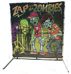 Zap the Zombies Carnival Game