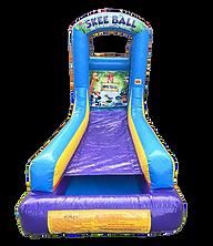 Skeeball Inflatable Game