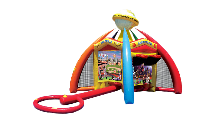 5in1 Junior Sports Inflatables Games