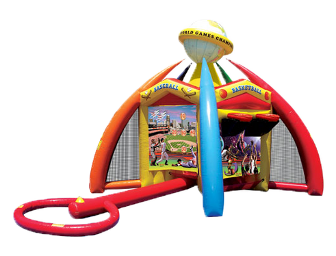 Junior Sports 5-in-1 Inflatable Games