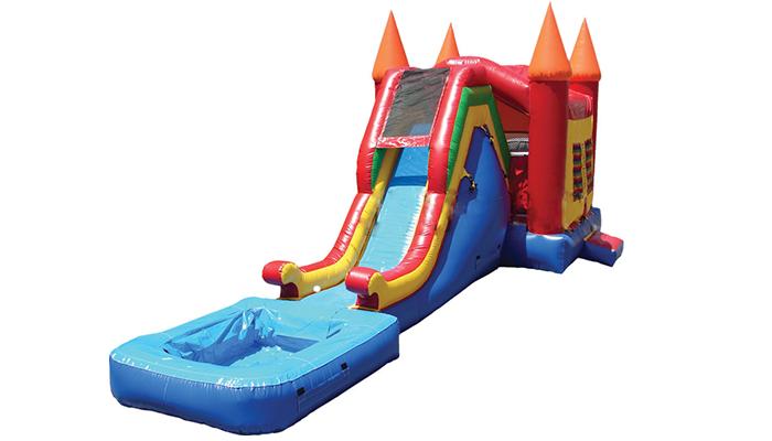 Combo Bounce Waterslide