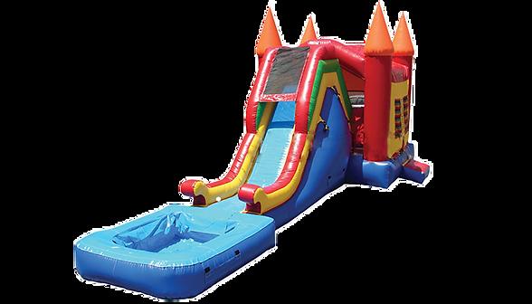 Combo Bouncer Wet/Dry Slide