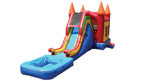 Combo Bouncer Wet/Dry Slide