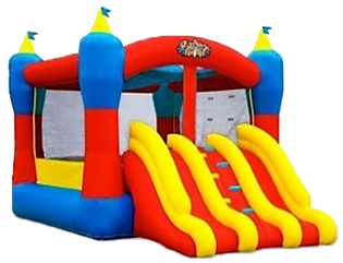 Double Slides Bouncer