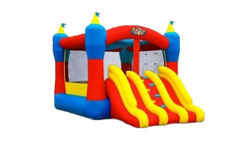 Double Slides Bouncer