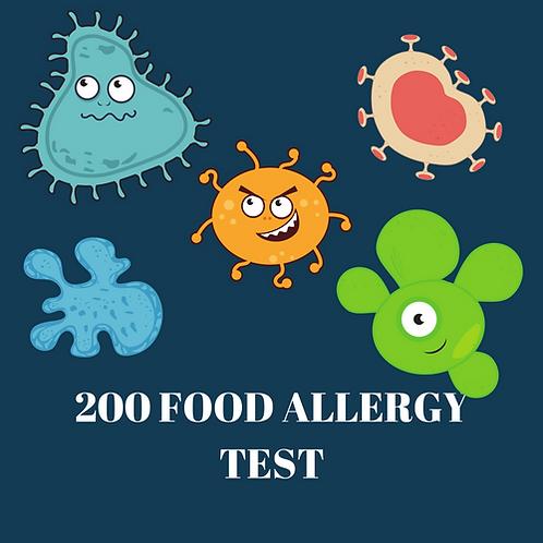 200 Food Allergy Test