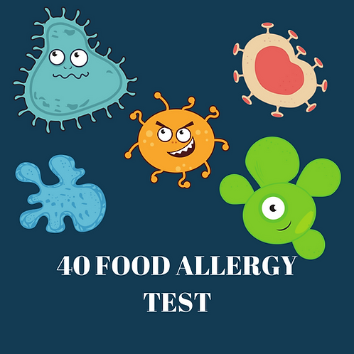 40 Food Allergy Test