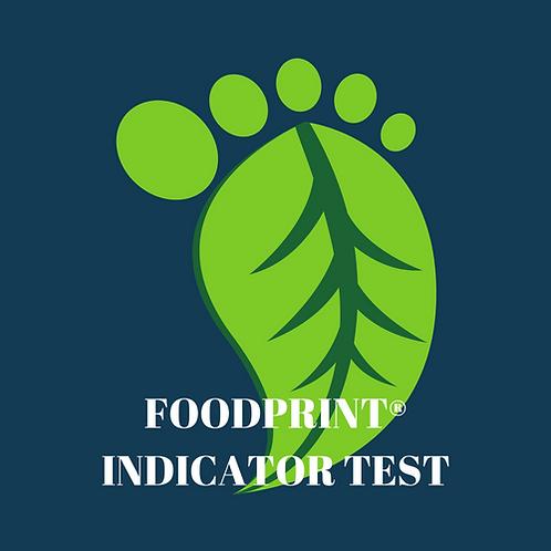 FoodPrint® Indicator Test