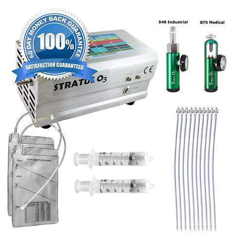 Ozone Generator and Insufflation Kit