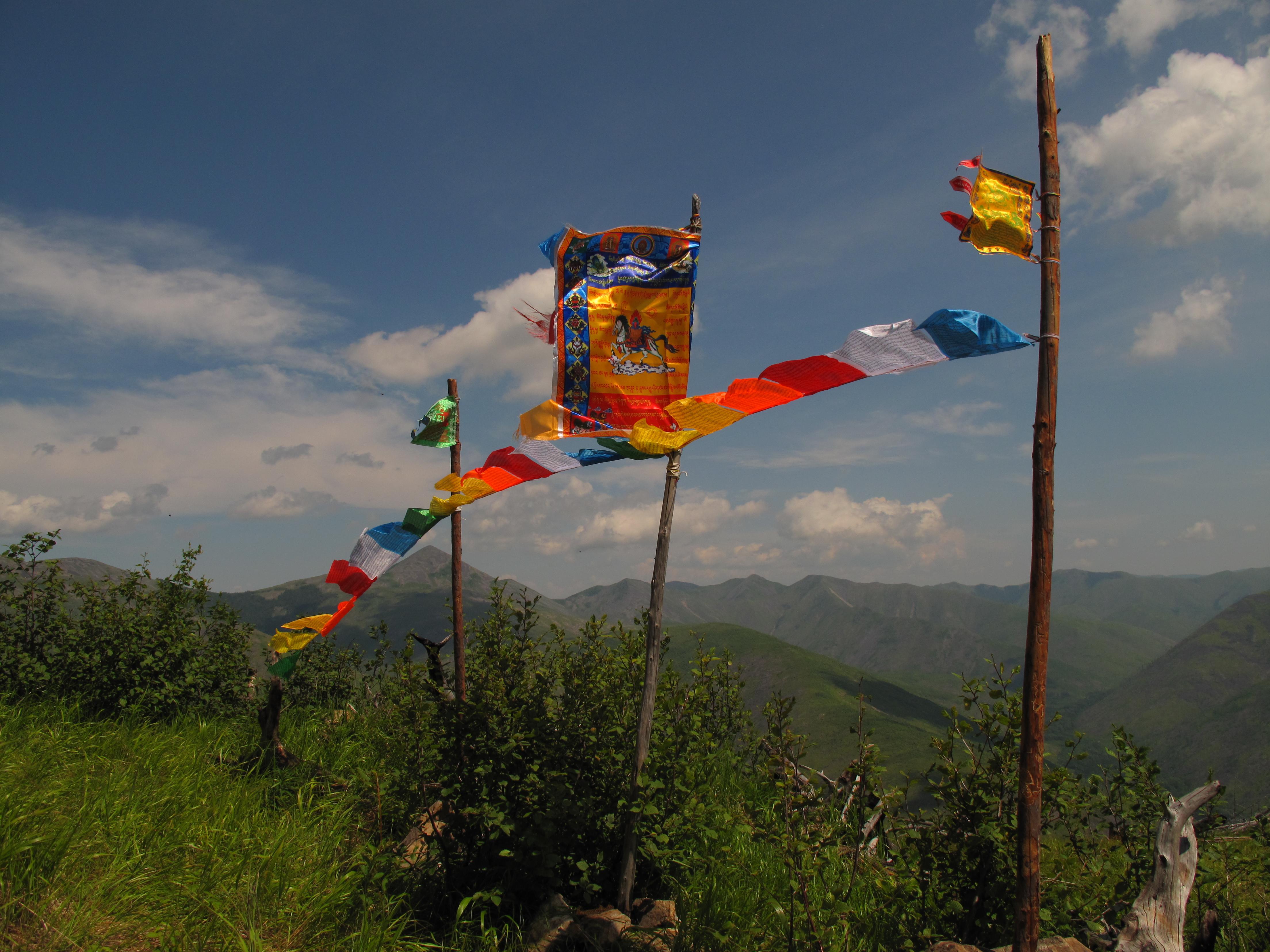 Горы. Буддийский заезд'14