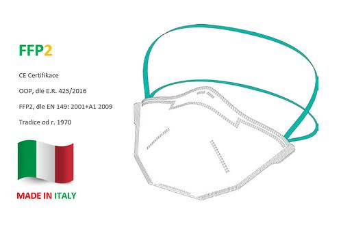 FFP2 respirátor BLS 502, 20ks v bal.