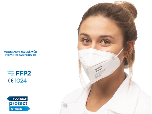 FFP2 respirátor BTL C-FIT, 25ks v bal.