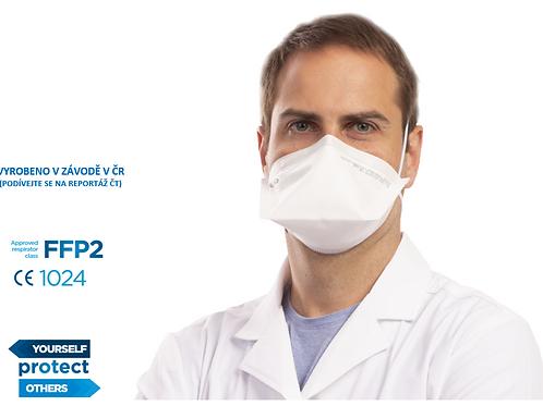 FFP2 respirátor BTL, FLAT-FIT, 25ks v bal.