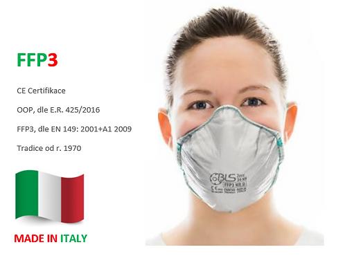 FFP3 respirátor BLS ZerO 30, 10ks v bal.
