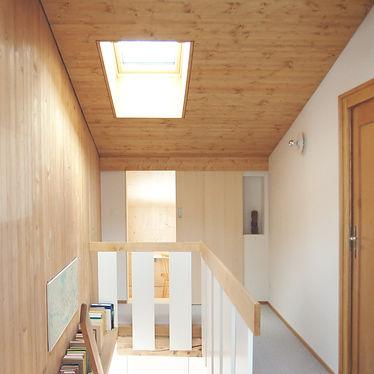 Dachs_Treppenraum.jpg Martin Dubach Architekt und Katrin Gurtner Architektin gud Architekten