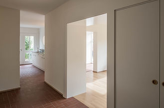 Martin Dubach Architekt und Katrin Gurtner Architektin gud Architekten Buchdruckerweg Gang.jpg