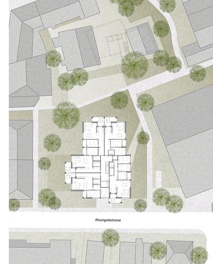 Martin Dubach Architekt und Katrin Gurtner Architektin gud Architekten Wohnhaus Neuhausen Situation.jpg
