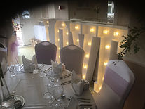 Wedding Light Up I DO