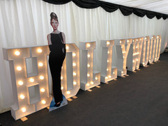 Light Up Letters 'HOLLYWOOD'