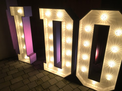 I DO in Light Up Letters