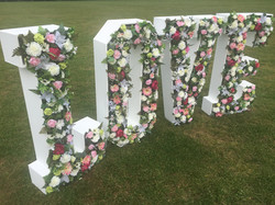 FLORAL WEDDING LOVE LETTERS