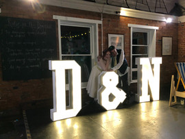 D&N Light Up Letters