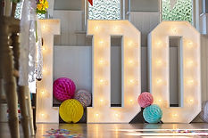 Light Up I DO Letters in Kent