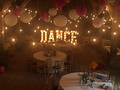 Large Light Up DANCE Letters, Kent