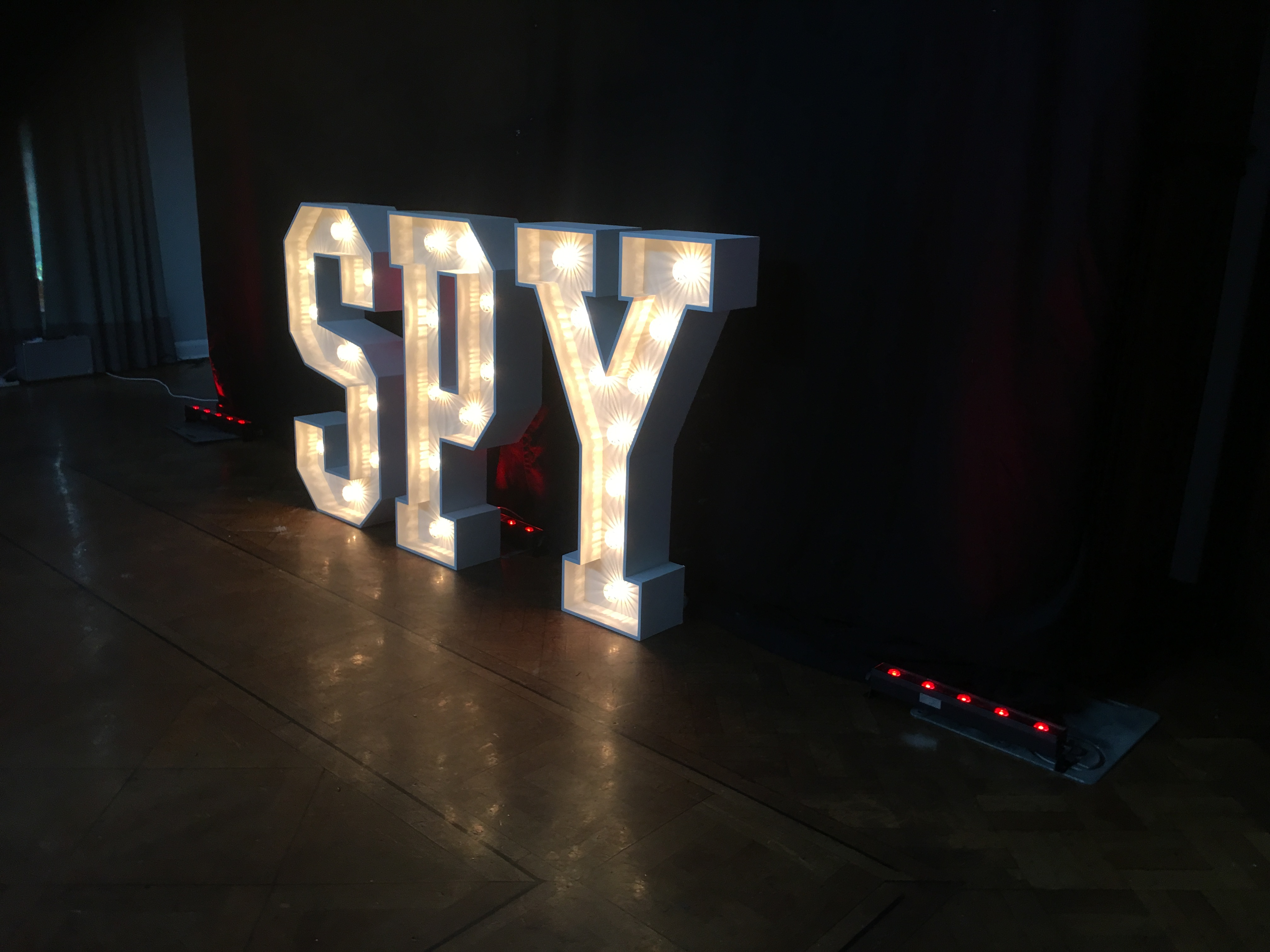 4ft Light Up Letters Tunbridge Wells