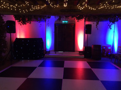 WEDDING DISCO BILSINGTON PRIORY