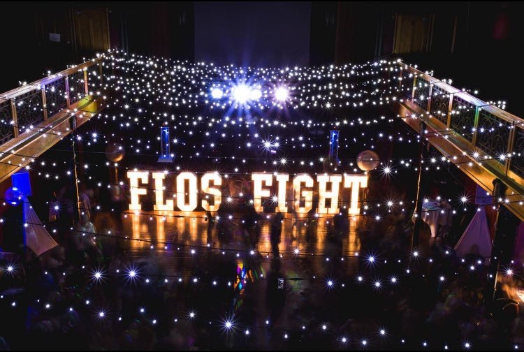 Giant Light Up Letters FlosFight