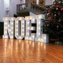 Light Up Letters 'NOEL'