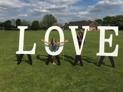 Outdoor Marquee LOVE Letters
