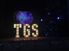 Light Up Letters 'TGS'