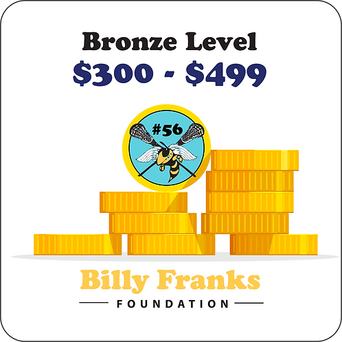 Bronze Sponsorship $300 - $499
