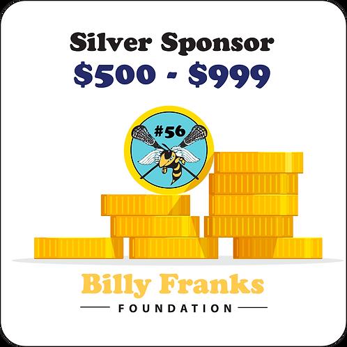 Silver Sponsor $500 - $999
