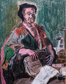 Ein kynischer Philosoph Luca Giordano 1650