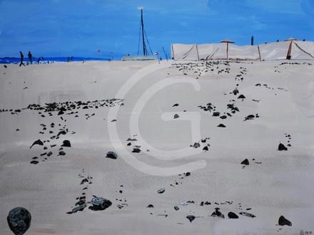 Strand I Steiniger Meeresstrand   Strand I