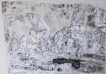 Vauclouse bei Avignon Dillis 1806
