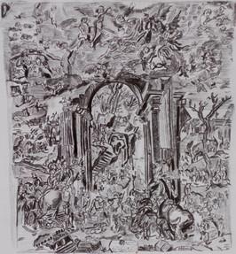 Die Anbetung der Könige von Agostino Carraci 1579