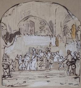 Die Verschwörung des Claudius Civiles Rembrandt 1661
