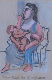 Maternité Picasso 1921