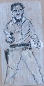 Middle Triple Elvis Andy Warhol 1963