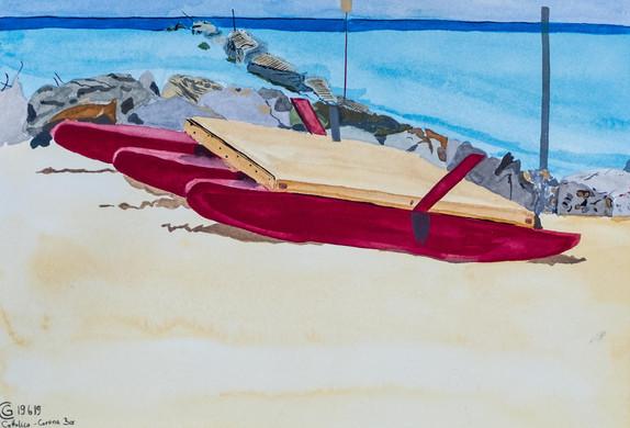 Boat at the Beach I