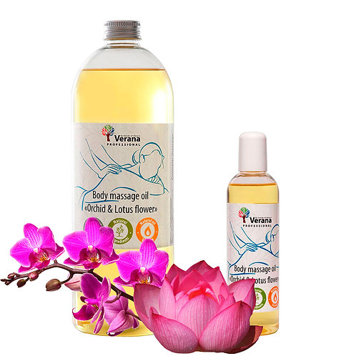 BODY MASSAGE OIL «ORCHID & LOTUS FLOWER»
