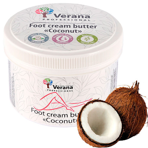 FOOT CREAM BUTTER «COCONUT»
